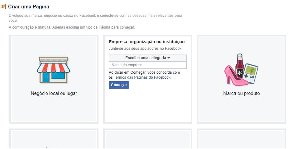 Como criar um Facebook para sua empresa