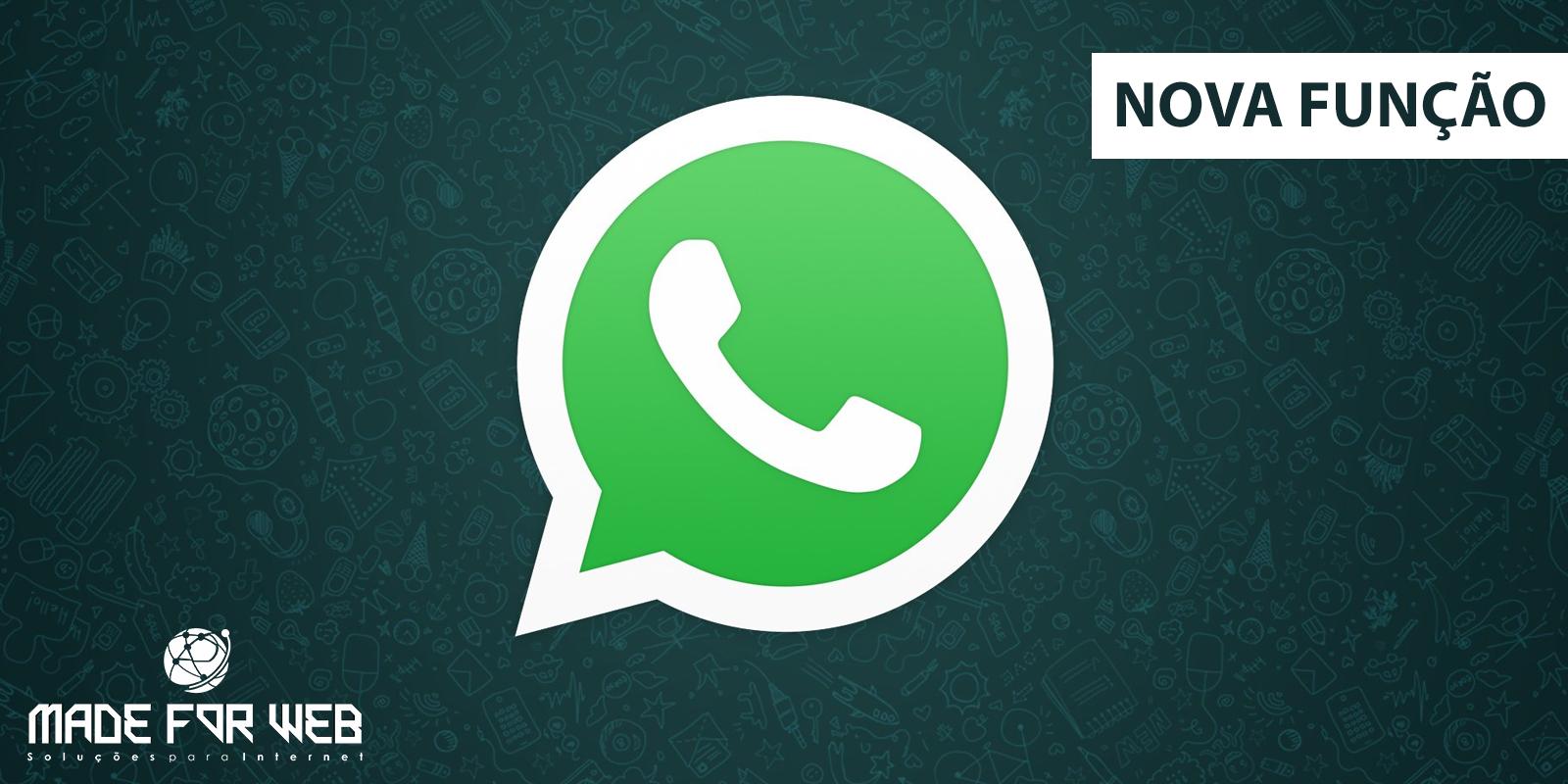 Whatsapp: Nova função permite que ADM's restrinjam o envio de mensagens no grupo