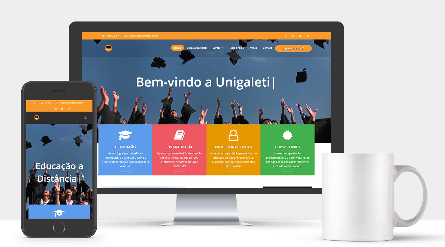 Unigaleti - Polos Educacionais